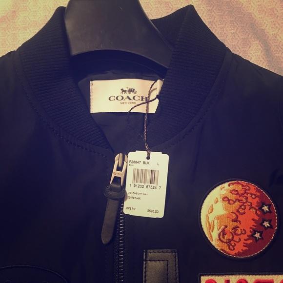 d06ecadc624 Brand New Coach Bomber Jacket size L